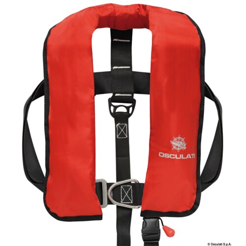 Automata mentőmellény, piros OSC