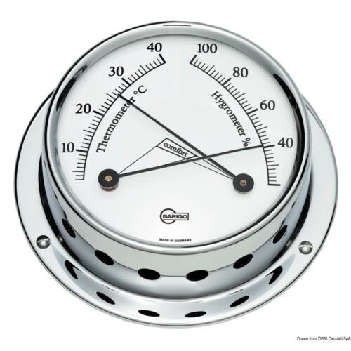 Hőmérséklet és Páratartalom mérő crom