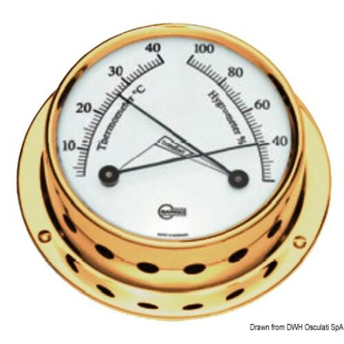 Hőmérséklet és Páratartalom mérő arany