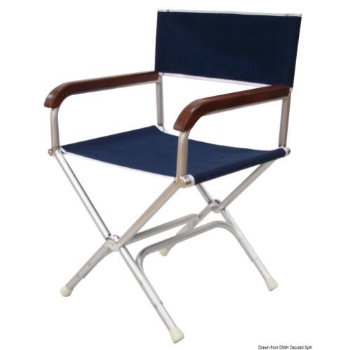 Rendezői szék kék színben