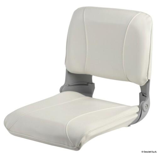 Lehajtható ülés levehető párnával fehér