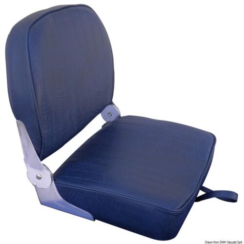 Alu párnázott ülés kék