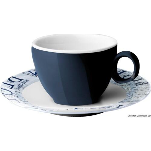 Kávéscsésze tányérral 10cl