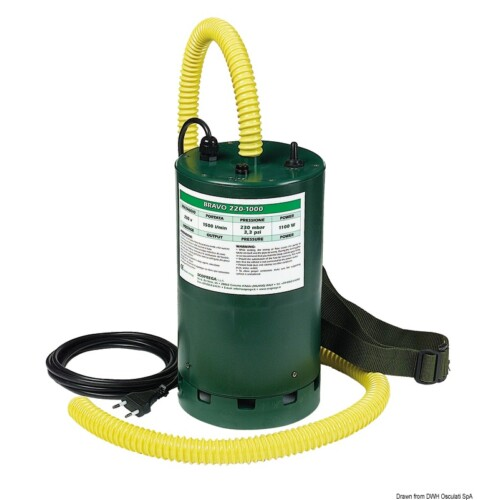 BRAVO 1000 elektromos pumpa