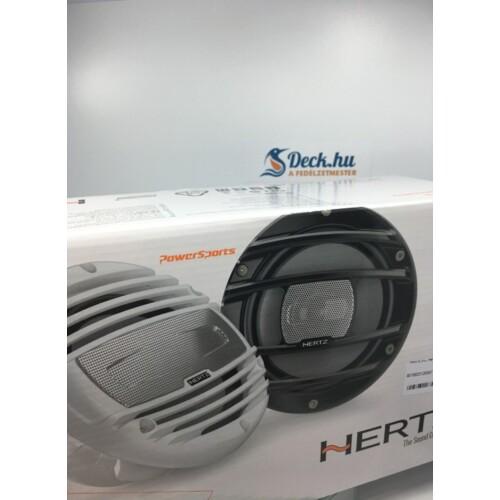 HMX 8 LD Hertz Marinesport hangszóró 20cm fekete RGB LED világítással