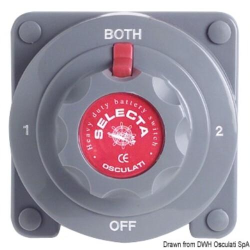 Akkumulátor kapcsoló 175A 12/24V OSC
