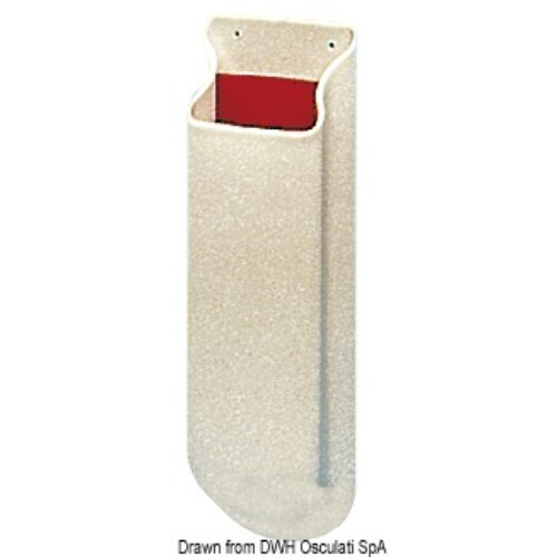 Csörlő tartó PVC fehér OSC