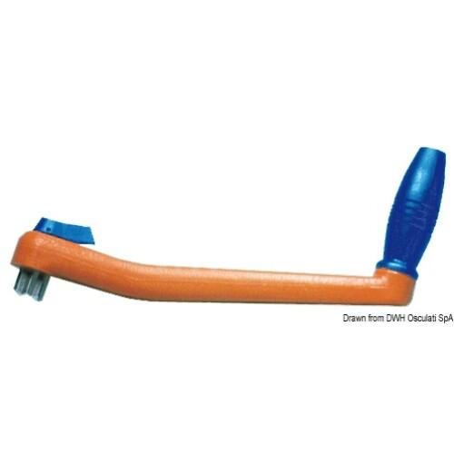 Csörlőkar műanyag -úszó- 200mm