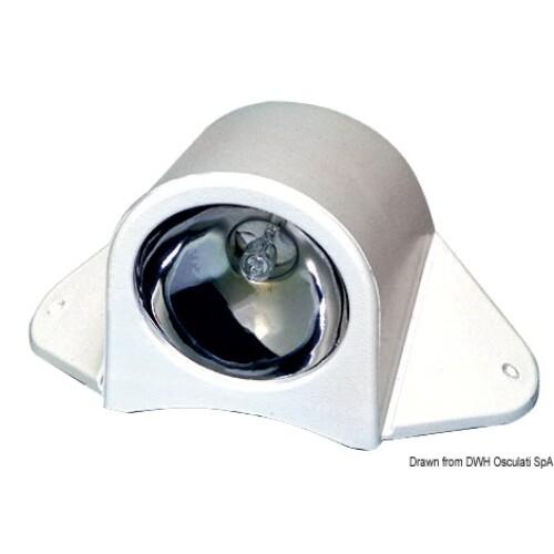 Deck lámpa fehér, halogén 12V 20W OSC