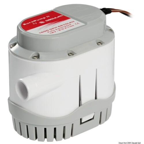 Europump II automata fenékvíz szivatyú 12V 96l/min