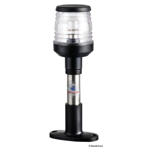 Fény - 360 Körfény fekete 20cm talp OSC