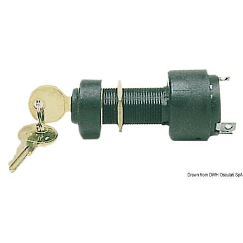 Gyújtáskapcsoló OSC  3 utas kulcsos