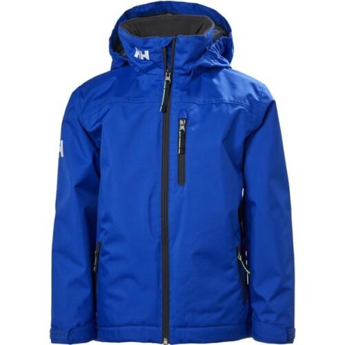 HH CREW HOODED MIDLAYER JACKET férfi technikai kabát kék  L
