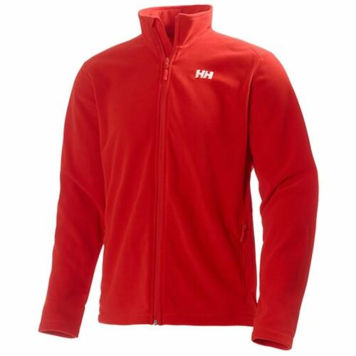 HH FLEECE JACKET férfi kabát piros L