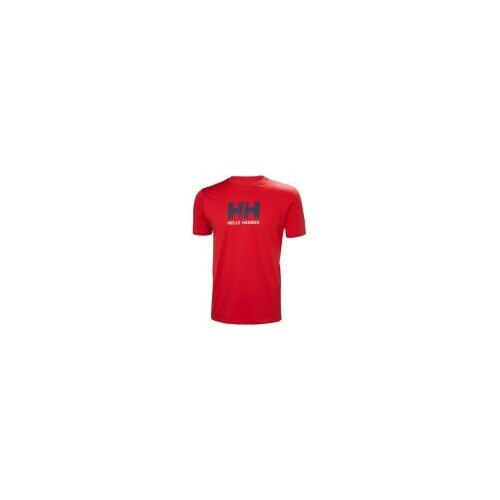 HH LOGO T-SHIRT férfi póló piros L