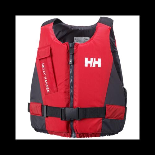 HH Rider Vest sportmellény piros 90kg+ XL