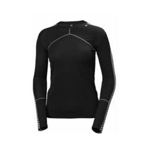 HH LIFA CREW női hosszúujjú póló fekete XS