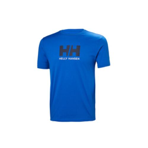 HH LOGO T-SHIRT férfi póló kék XL