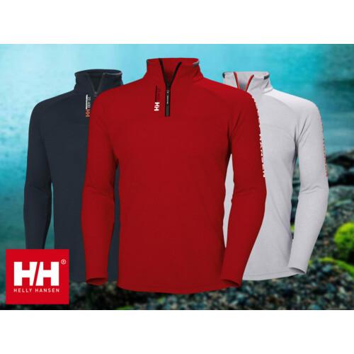HH HP 1/2 ZIP pulcsi piros L