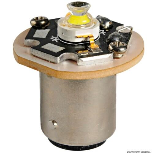 LED izzó -horgonyfény- BA15D