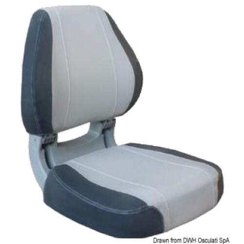 Scirocco ülés - világos+sötét szürke