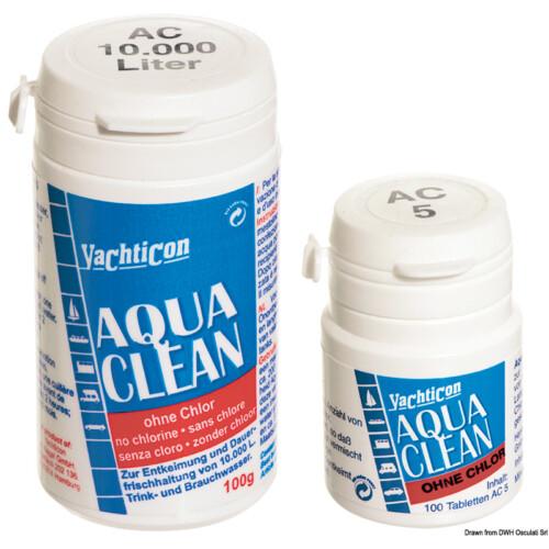 Yachticon Aqua Clean  - víztisztító- klórmentes 100 tabletta