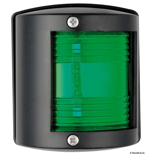 Fény Zöld poziciófény U 77 fekete