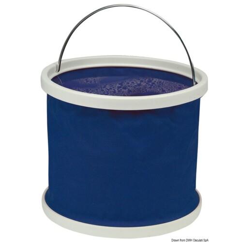 Vödör összecsukható kék 9L