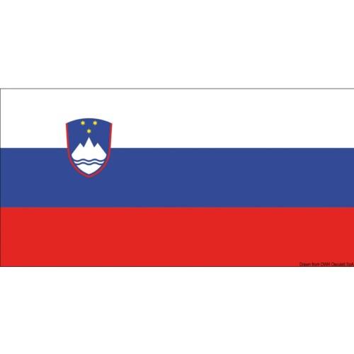 Zászló 20x30 cm Szlovén