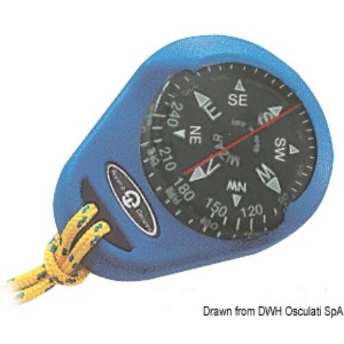 RIVIERA compass Mizar kék hordozható OSC
