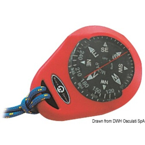 RIVIERA compass Mizar piros hordozható OSC