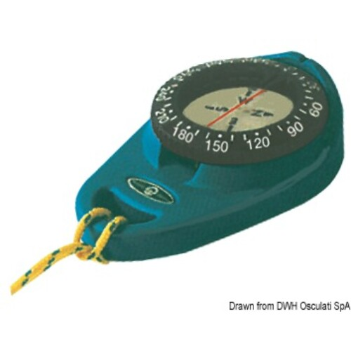 RIVIERA compass Orion kék hordozható OSC