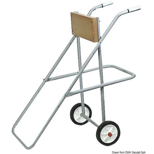 Motortartó kerékkel 25LE-ig