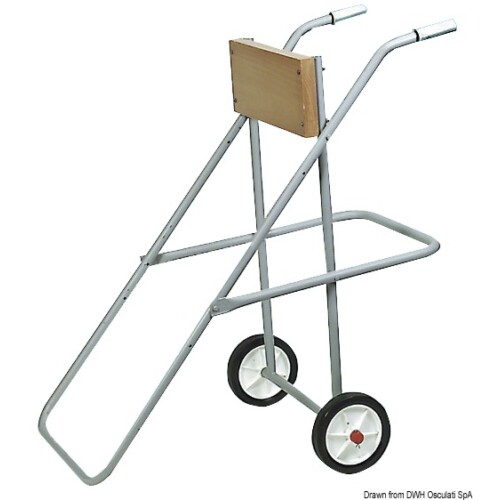 Motortartó kerékkel 30LE-ig