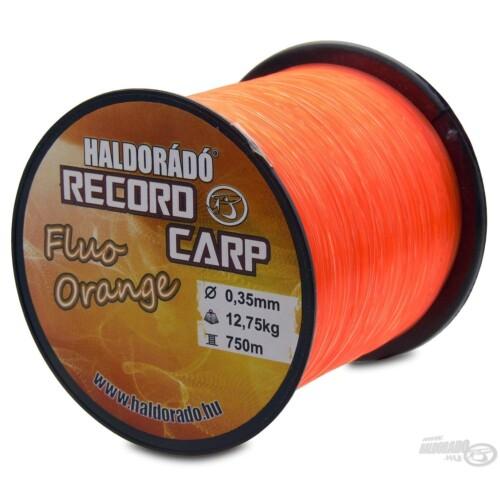 Record Carp Fluo Orange 0,35 mm / 750 m