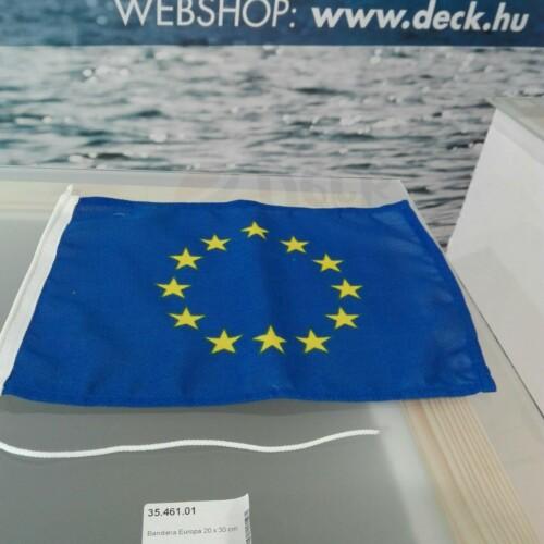 Zászló 20x30 cm EU