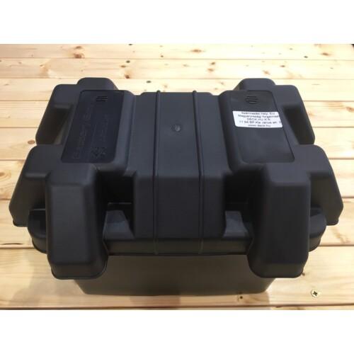 Akkumulátor doboz fekete 360x240 OSC