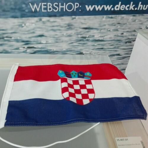 Zászló 20x30 cm Horvát