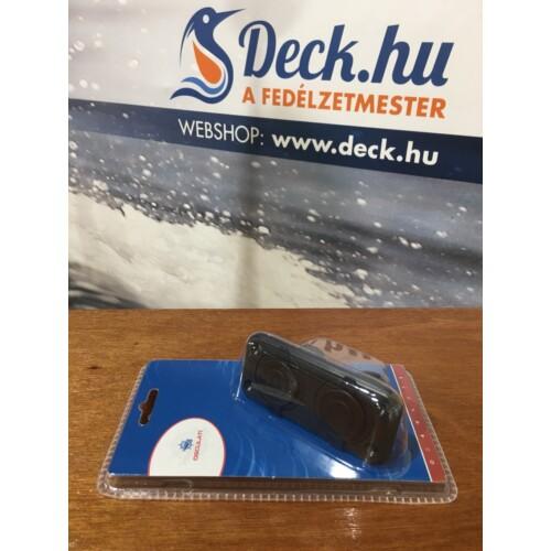 USB töltő besűllyeszthető fekete