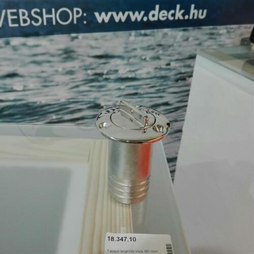 Víz leeresztő INOX 60mm OSC