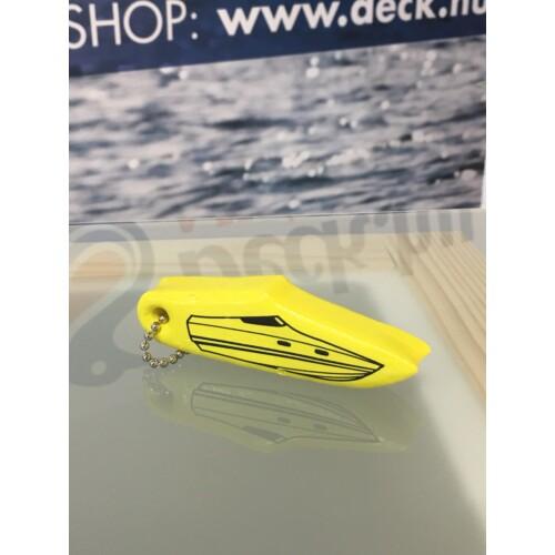 Kulcstartó Hajó sárga