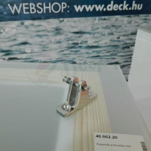 Biminitalp inox OSC 20mm, 90fokos