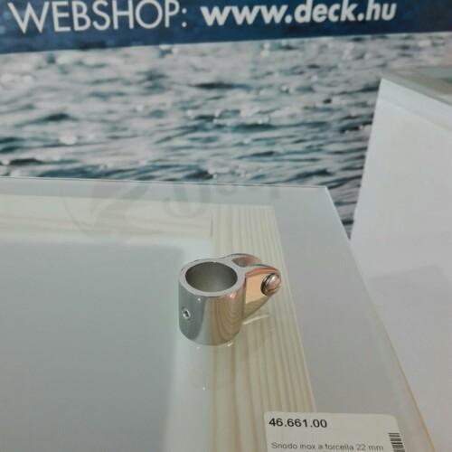 Biminicsatlakozó 20 mm inox OSC