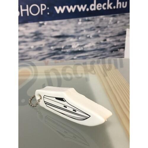 Kulcstartó Hajó fehér